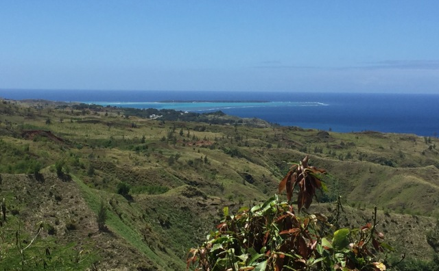 Day 12 - Ridgeline View with Commanding Views of Agat Beach and the Rugged Lower Hills