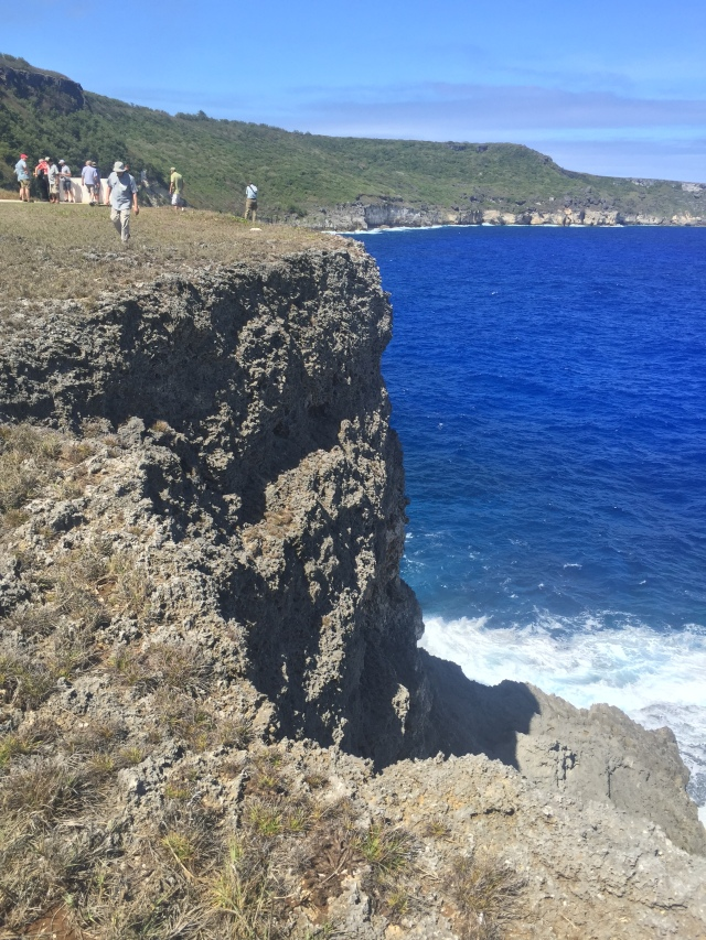 Day 9 - Suicide Cliffs on Tinian, Dropping Straight to the Rocks and Surf Below