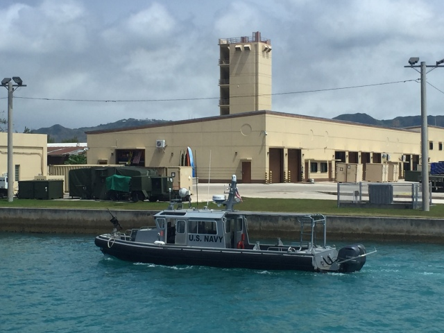 Dau 10 - Navy Tug in Operation on Guam Navy Base