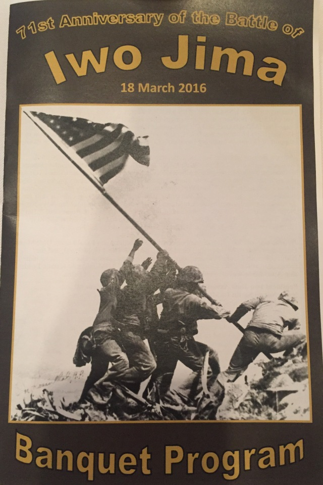 Day 10 - Banquet Program for the IJAA's 71st Anniversary of the Battle of Iwo Jima