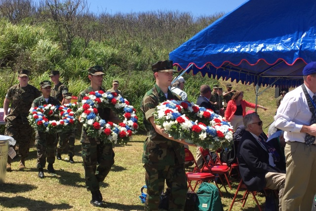 Day 11B - Parade of Four American Wreaths to be Placed by Selected Delegations
